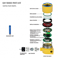 QM-9000D PART LIST